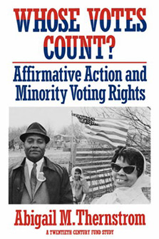 Whose Votes Count? Affirmative Action and Minority Voting Rights