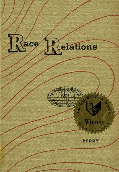 Cover of Race Relations