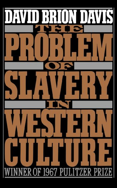 Cover of The Problem of Slavery in Western Culture