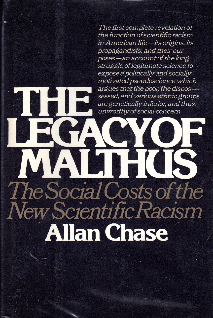 Cover of The Legacy of Malthus