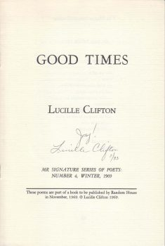 Cover of Good Times (1969)