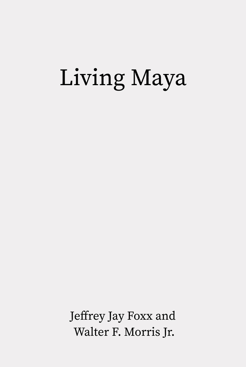 Cover of Living Maya