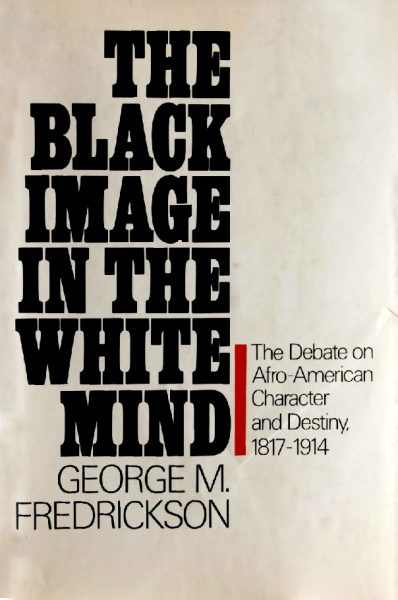 Cover of The Black Image in the White Mind