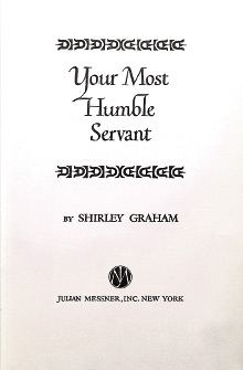 Your Most Humble Servant