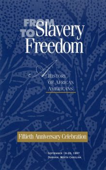 Cover of From Slavery to Freedom: A History of African-Americans (1947)