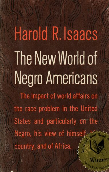 Cover of The New World of Negro Americans