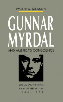 Cover of Gunnar Myrdal and America's Conscience