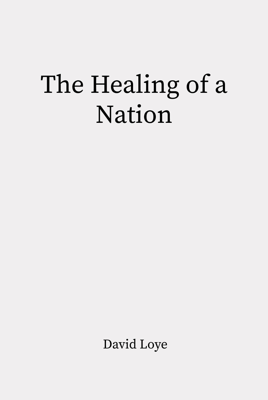 Cover of The Healing of a Nation