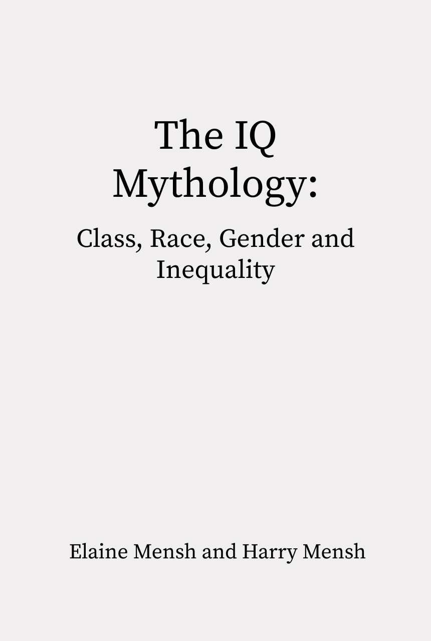 Cover of The IQ Mythology
