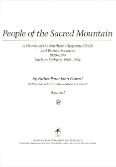 People of the Sacred Mountain