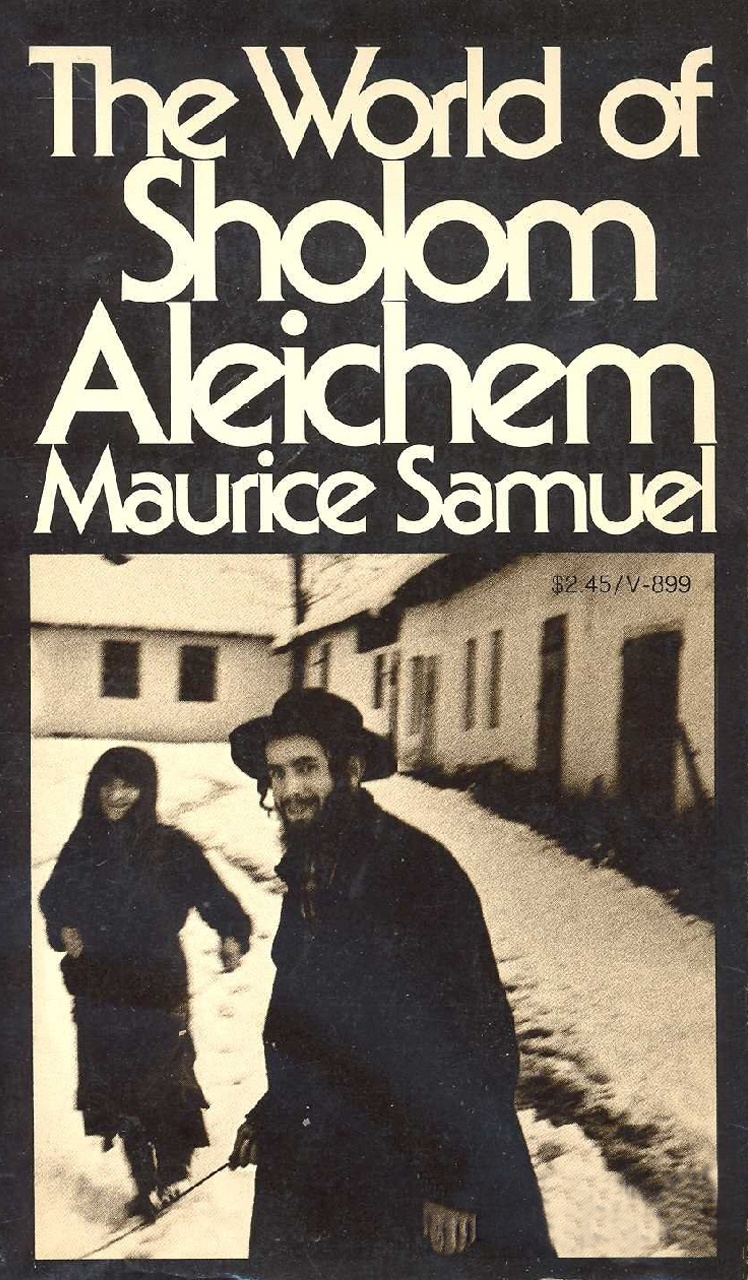 Cover of The World of Sholom Aleichem