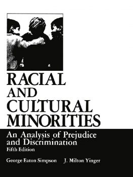 Cover of Racial and Cultural Minorities