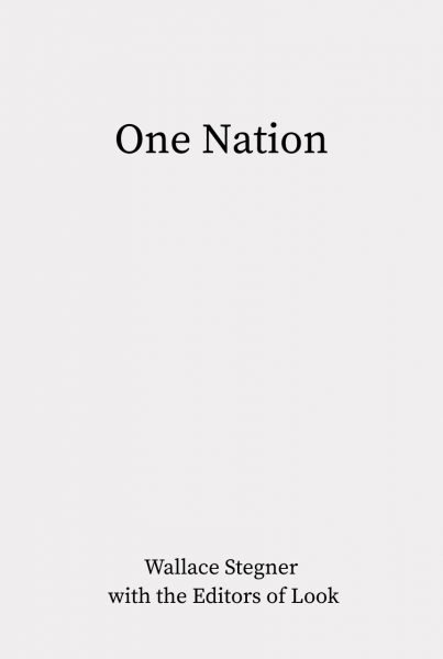 Cover of One Nation