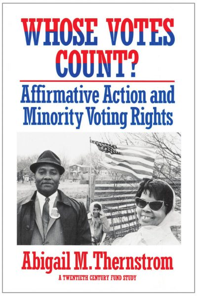 Cover of Whose Votes Count?