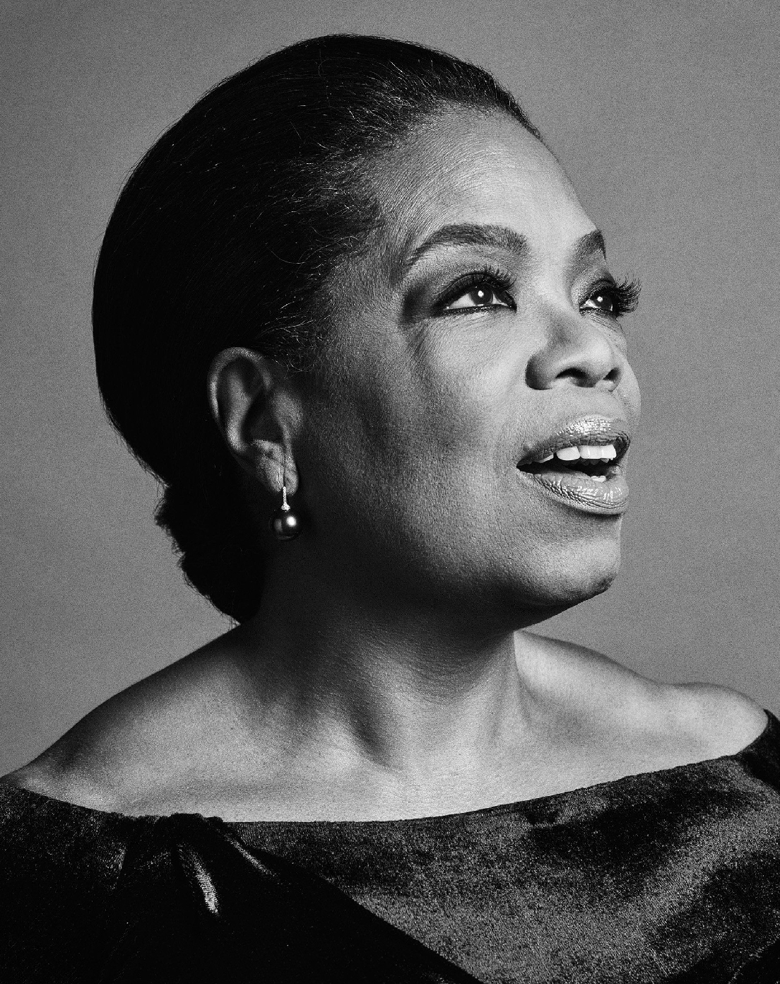 Portrait of Oprah Winfrey