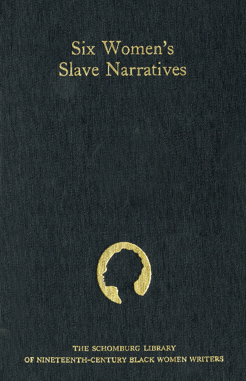 Cover of The Schomburg Library of Nineteenth-Century Black Women Writers