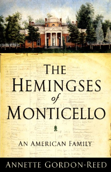 Cover of The Hemingses of Monticello