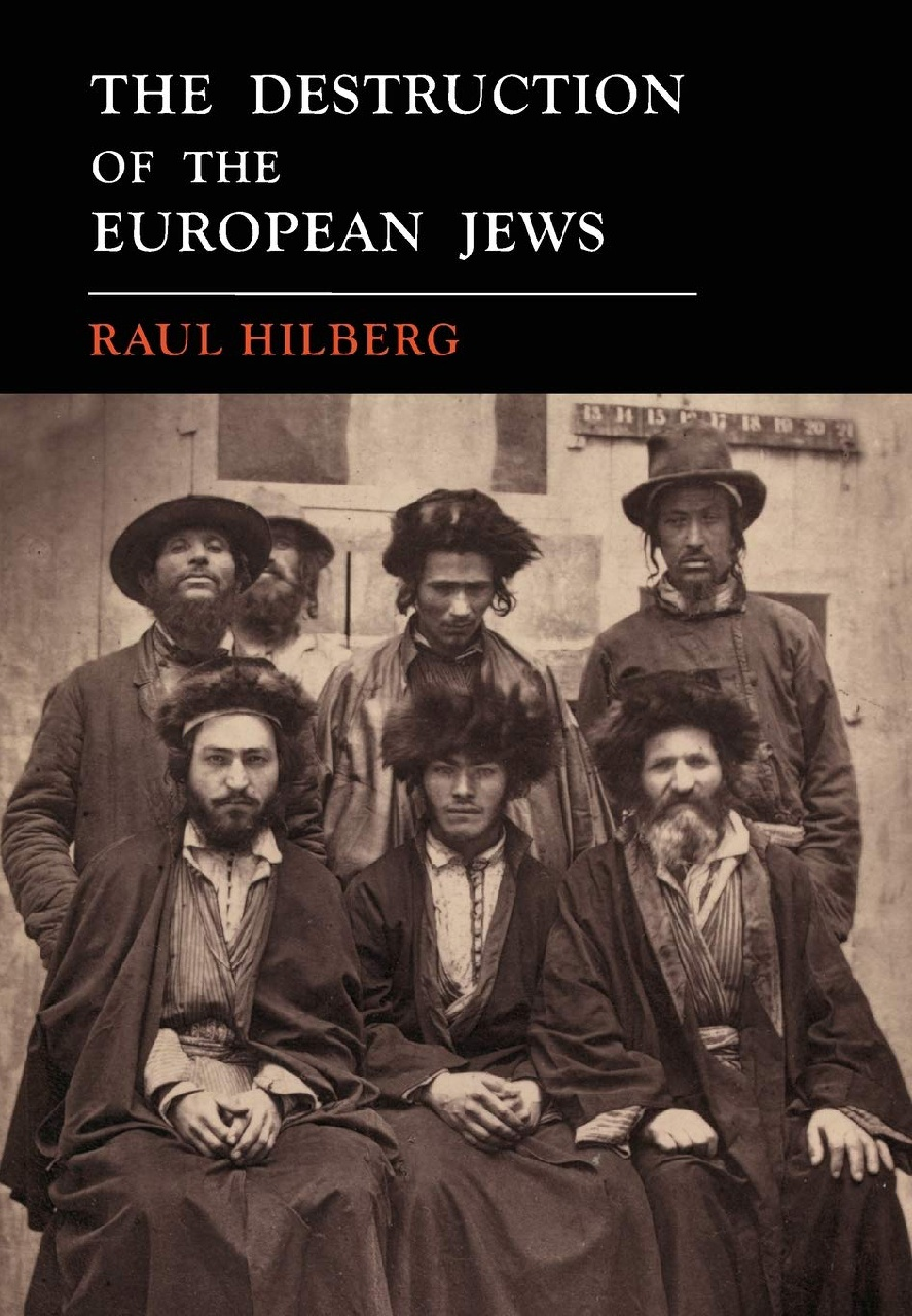 Cover of The Destruction of the European Jews