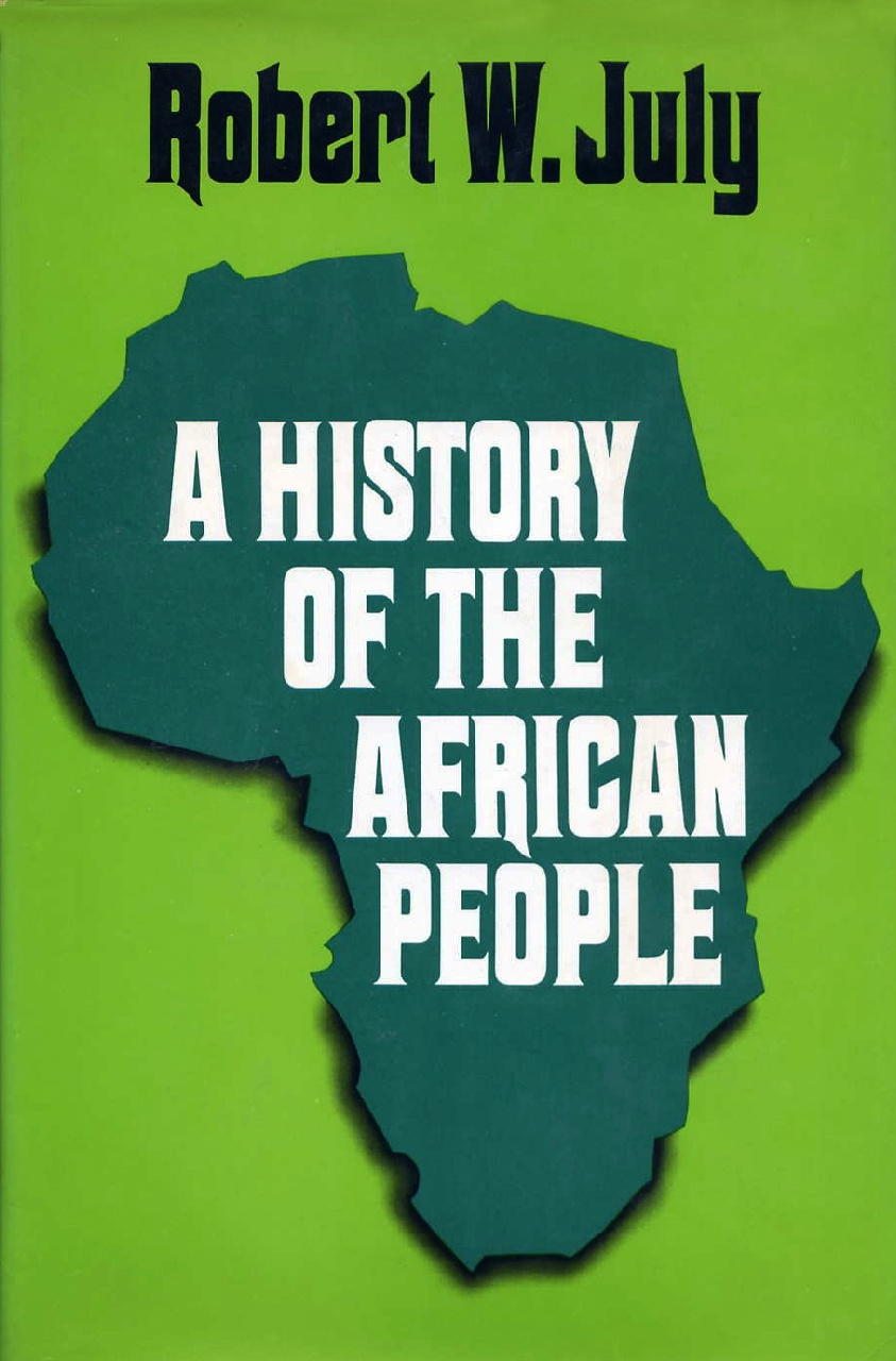 Cover of A History of the African People