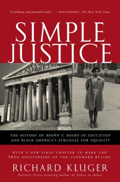 Cover of Simple Justice