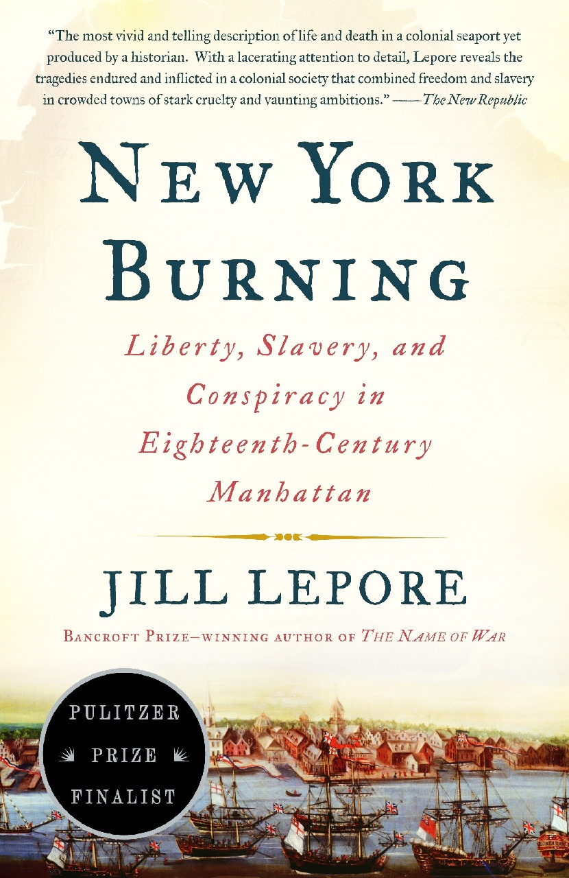 Cover of New York Burning