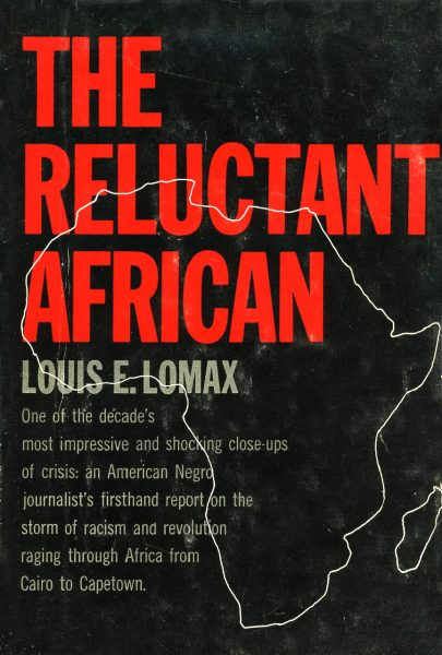 Cover of The Reluctant African