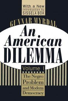 Cover of An American Dilemma