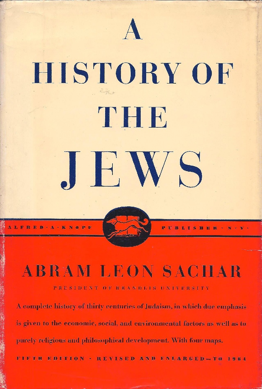 Cover of A History of the Jews