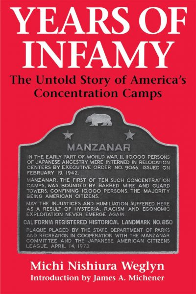Cover of Years of Infamy