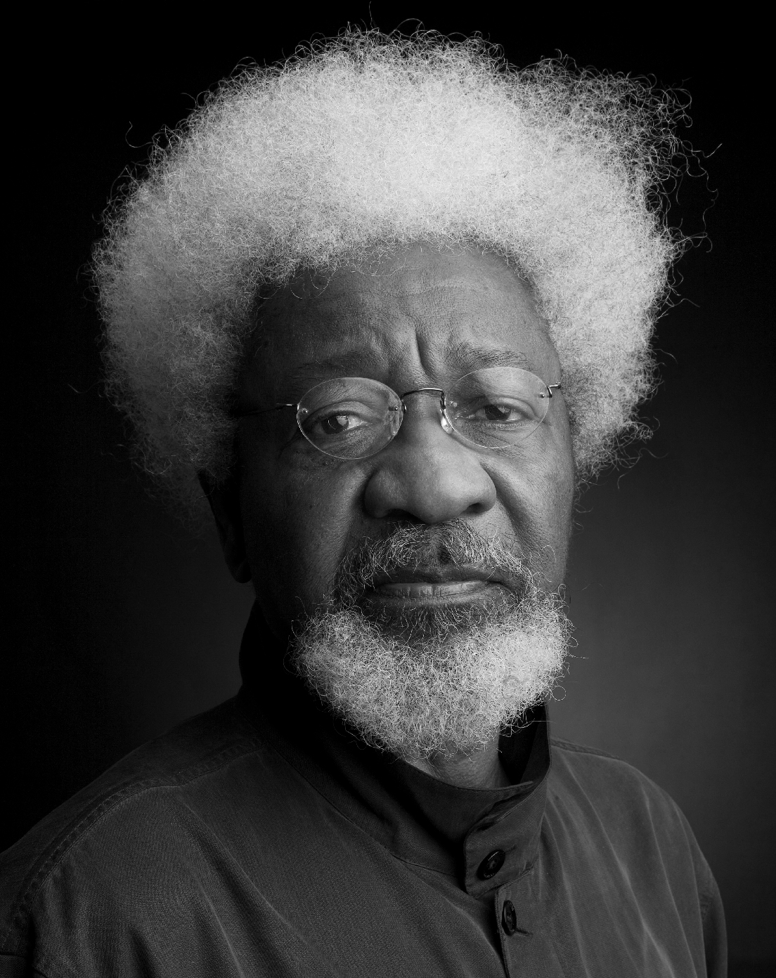 Portrait of Wole Soyinka