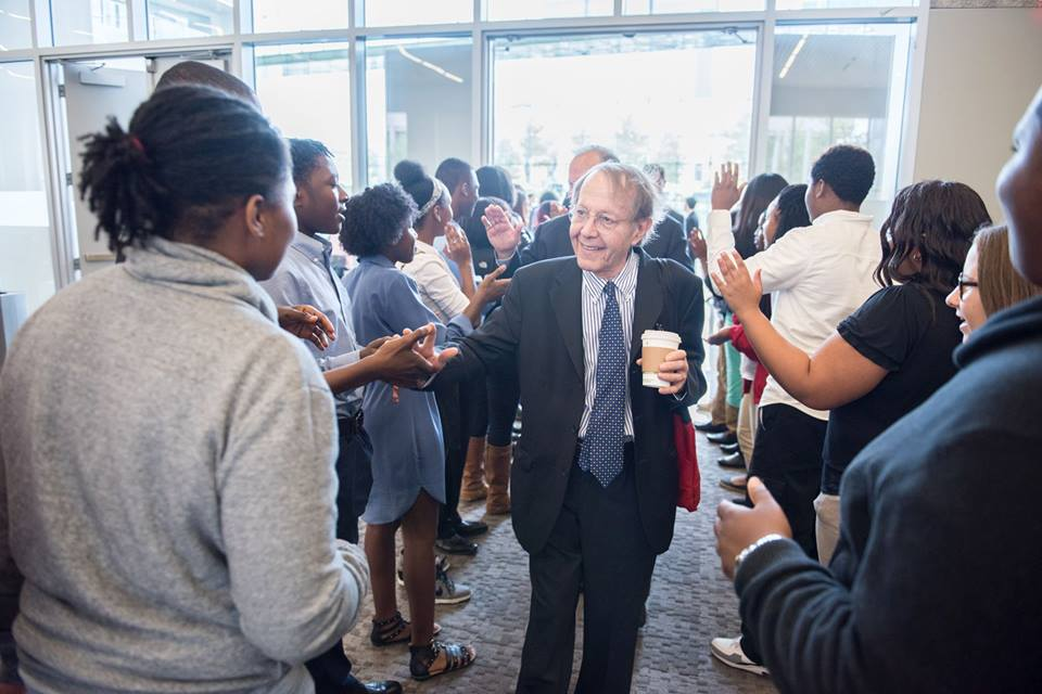 jonathan kozol at open doors academy