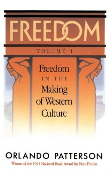 Cover of Freedom in the Making of Western Culture (1991)