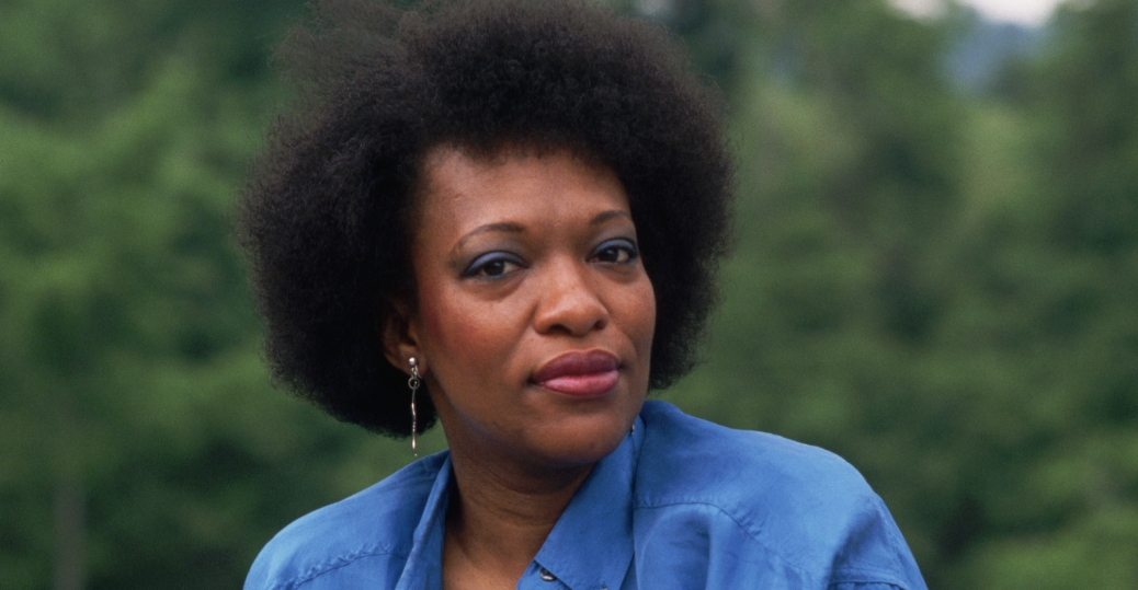 Rita Dove, pictured here as the poet laureate in 1993